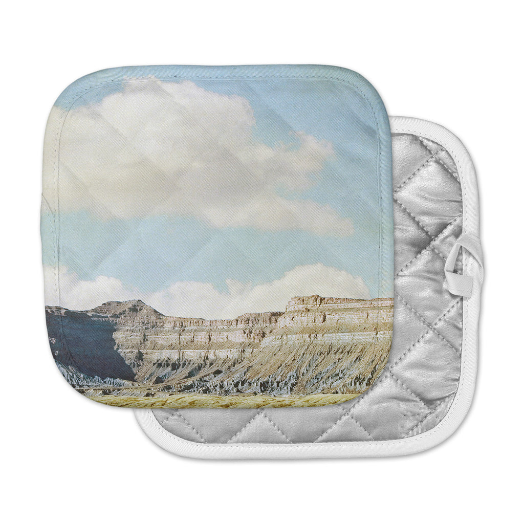 "Sylvia Coomes ""Out West"" Brown Photography Pot Holder"