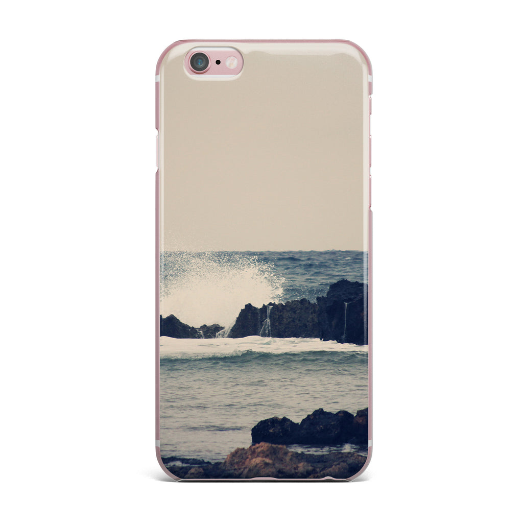 "Sylvia Coomes ""Ocean Blue 2"" White Coastal iPhone Case - KESS InHouse"