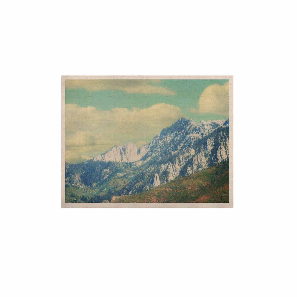 "Sylvia Coomes ""Utah Mountains"" Blue Nature KESS Naturals Canvas (Frame not Included) - KESS InHouse  - 1"