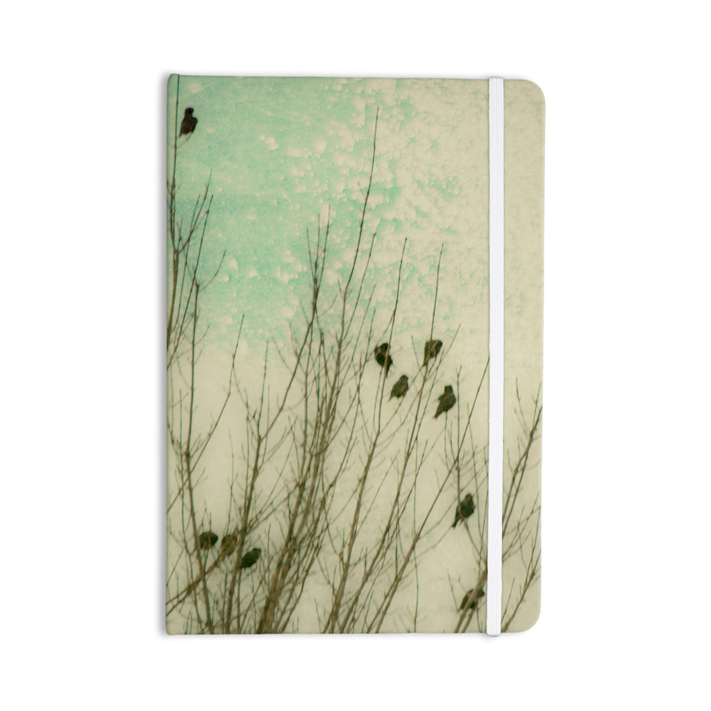 "Sylvia Coomes ""Braving The Cold"" Blue Photography Everything Notebook - KESS InHouse  - 1"