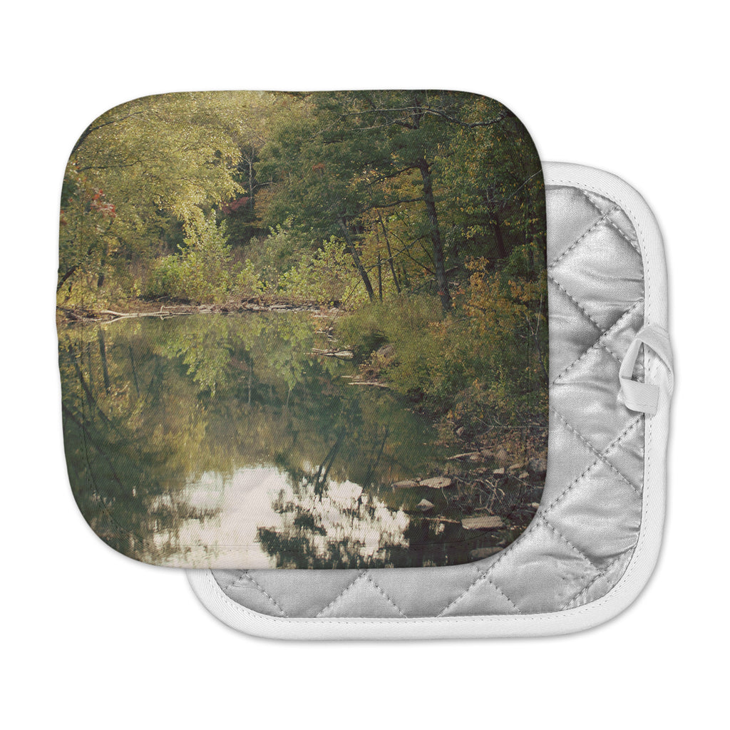 "Sylvia Coomes ""In The Woods 3"" Brown Photography Pot Holder"