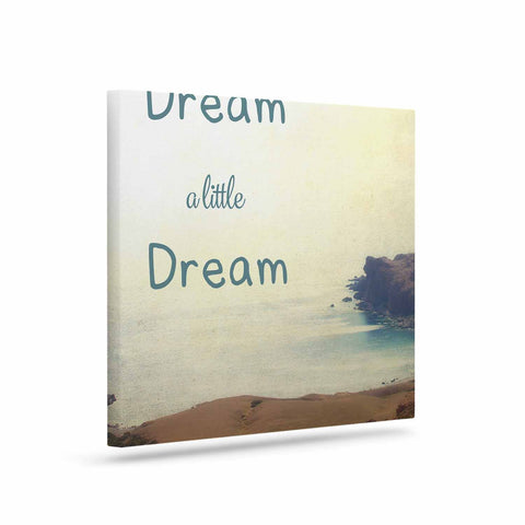 "Sylvia Coomes ""Dream A Little Dream"" Yellow Brown Photography Canvas Art"