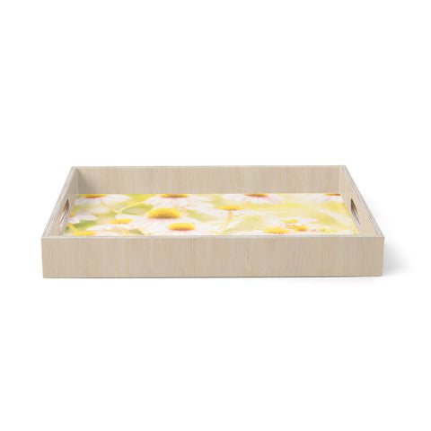 "Sylvia Coomes ""Fields Of Flowers""  Birchwood Tray"