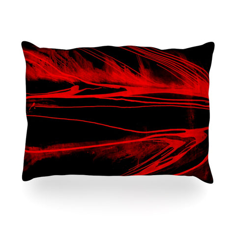"Steve Dix ""In the Detail"" Oblong Pillow - KESS InHouse"