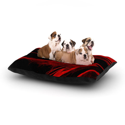 "Steve Dix ""In the Detail"" Dog Bed - KESS InHouse  - 1"
