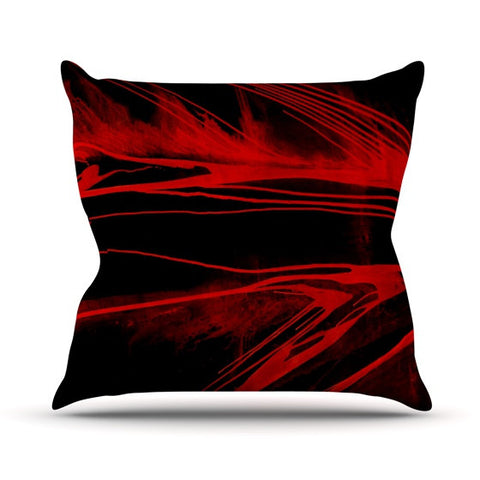 "Steve Dix ""In the Detail"" Outdoor Throw Pillow - KESS InHouse  - 1"