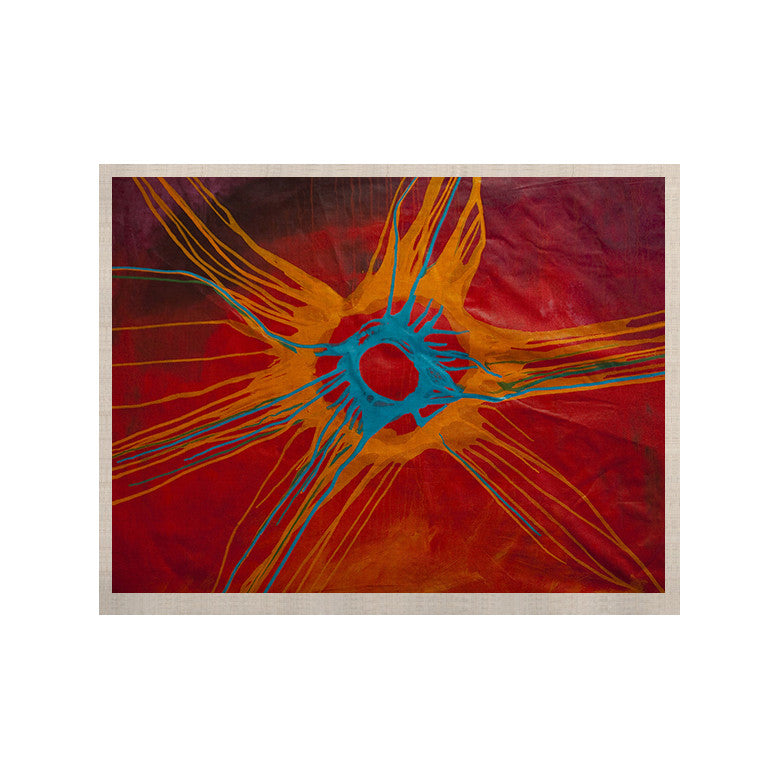 "Steve Dix ""Eclipse"" KESS Naturals Canvas (Frame not Included) - KESS InHouse  - 1"
