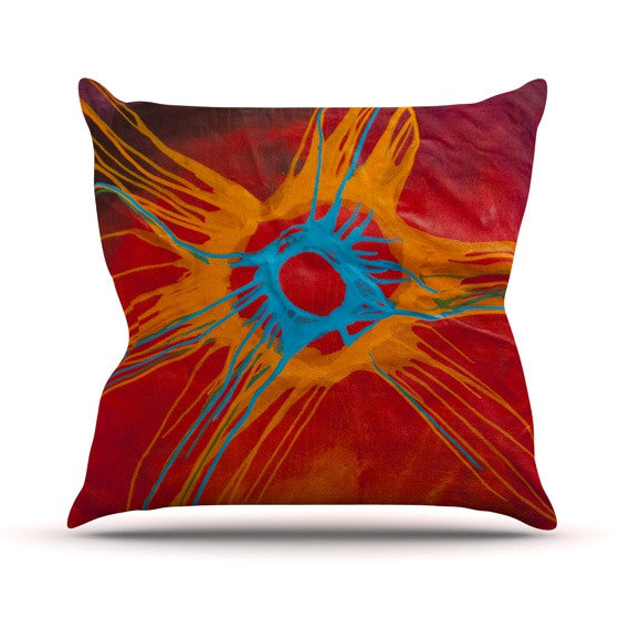 "Steve Dix ""Eclipse"" Outdoor Throw Pillow - KESS InHouse  - 1"