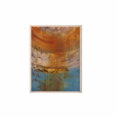 "Steve Dix ""Source of Energy"" Orange Blue KESS Naturals Canvas (Frame not Included) - KESS InHouse  - 1"