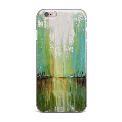 "Steven Dix ""Twilight Imaginings "" Teal Copper iPhone Case"