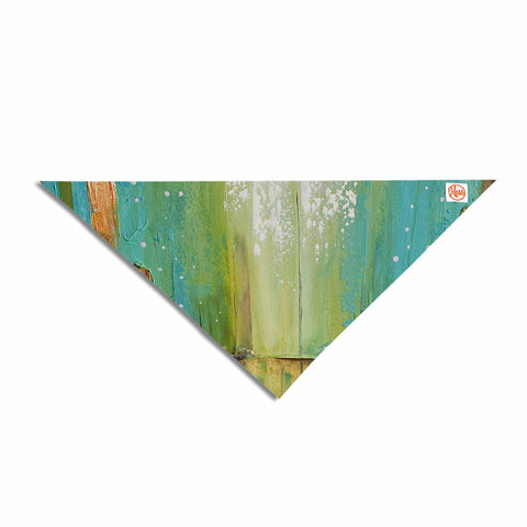 "Steven Dix ""Twilight Imaginings "" Teal Copper Pet Bandana"
