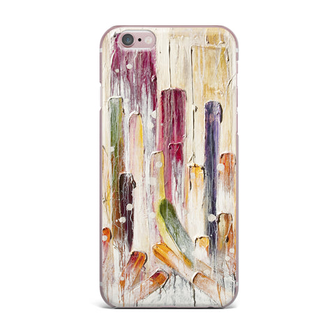 "Steven Dix ""Candy Icing"" Purple Red iPhone Case"