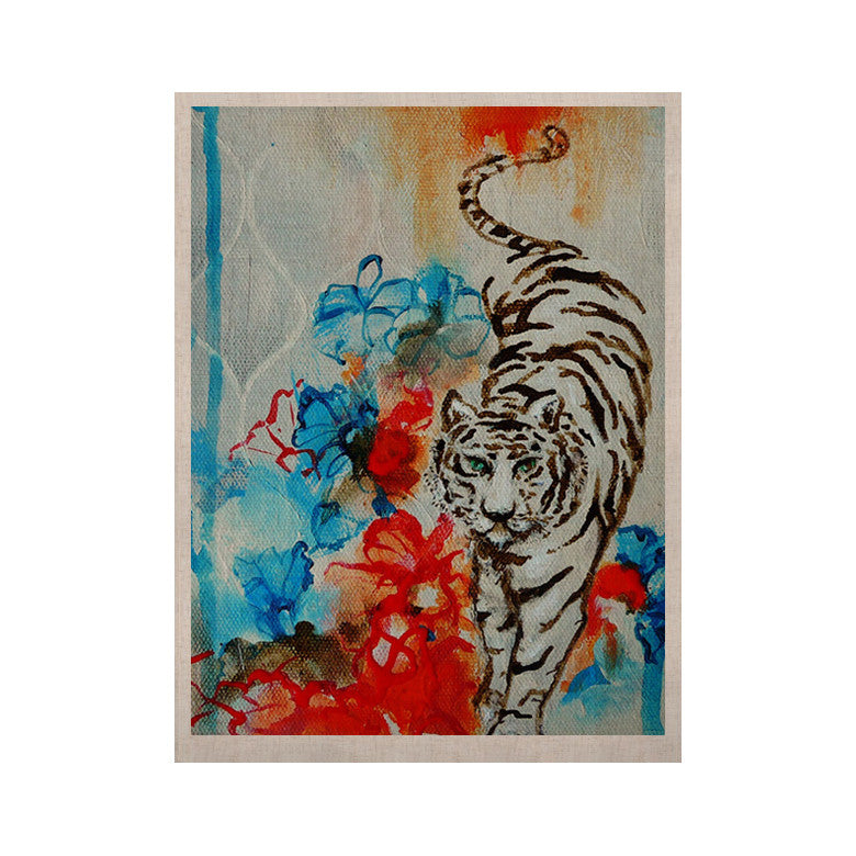 "Sonal Nathwani ""Tiger"" KESS Naturals Canvas (Frame not Included) - KESS InHouse  - 1"