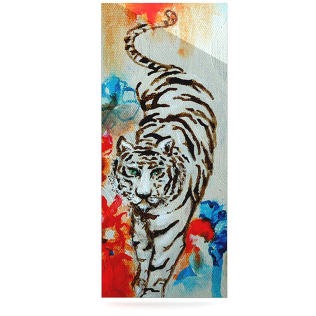 "Sonal Nathwani ""Tiger"" Luxe Rectangle Panel - KESS InHouse  - 1"