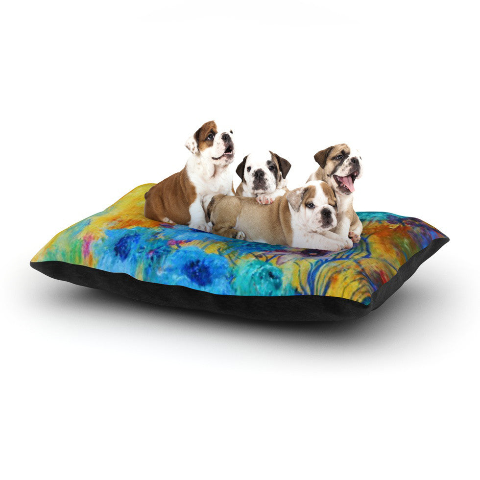 "Sonal Nathwani ""Cosmic Love Garden"" Dog Bed - KESS InHouse  - 1"