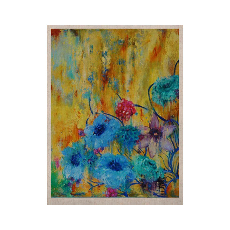 "Sonal Nathwani ""Cosmic Love Garden"" KESS Naturals Canvas (Frame not Included) - KESS InHouse  - 1"
