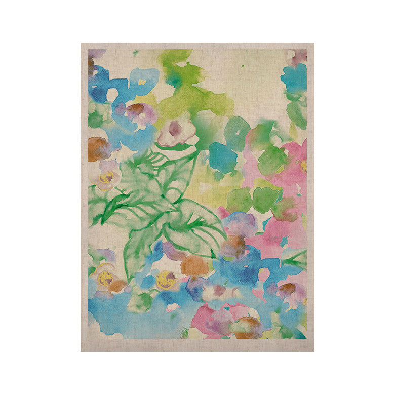 "Sonal Nathwani ""Leaf Bouquet"" KESS Naturals Canvas (Frame not Included) - KESS InHouse  - 1"