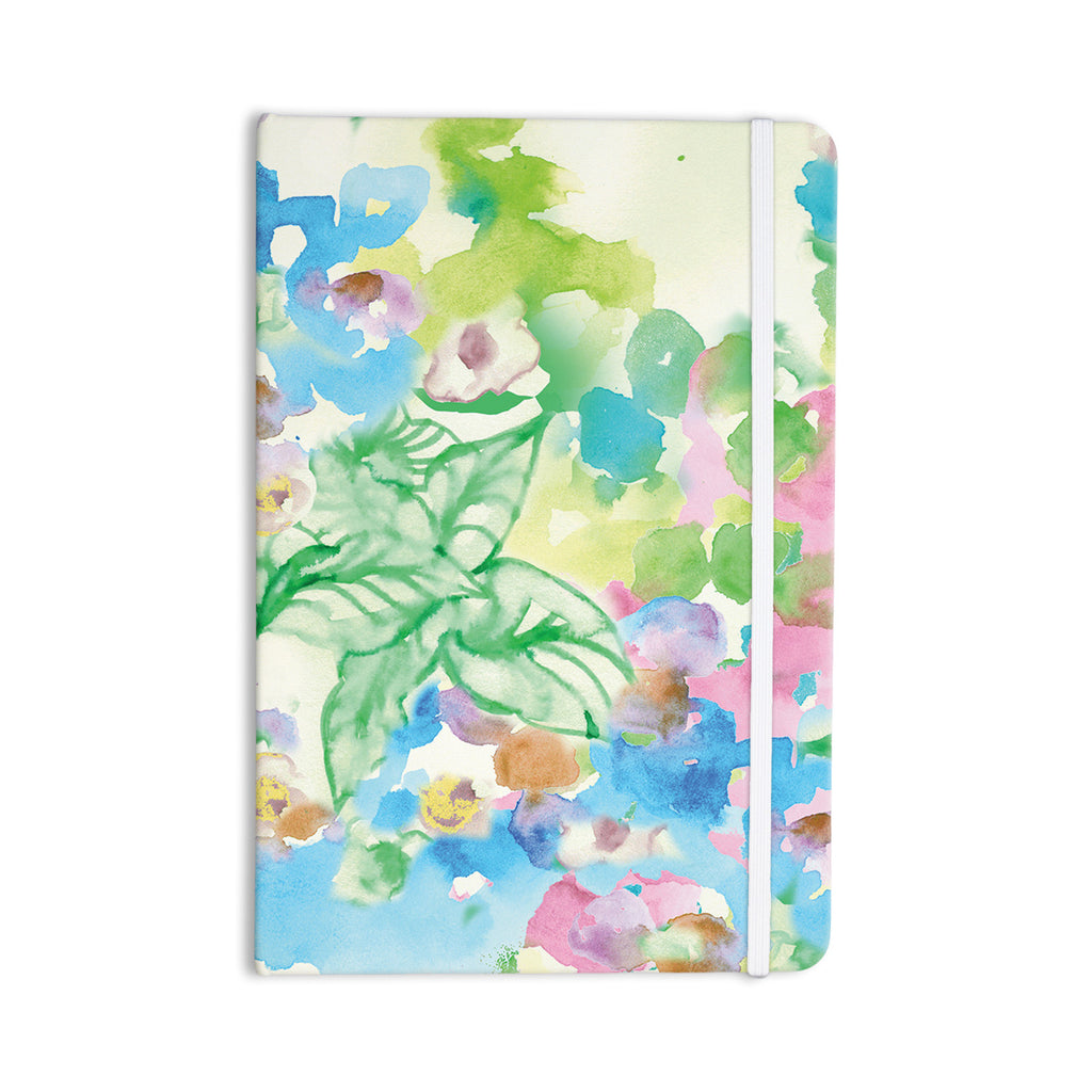 "Sonal Nathwani ""Leaf Bouquet"" Everything Notebook - KESS InHouse  - 1"