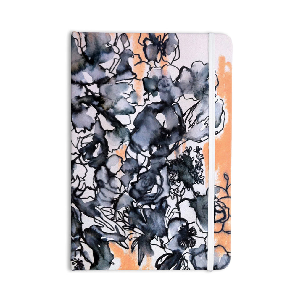 "Sonal Nathwani ""Inky Bouquet"" Everything Notebook - KESS InHouse  - 1"