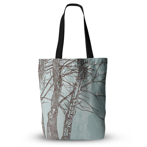 "Sam Posnick ""Winter Trees""  Everything Tote Bag - Outlet Item"