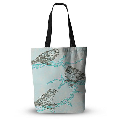 "Sam Posnick ""Birds in Trees"" Everything Tote Bag - KESS InHouse  - 1"