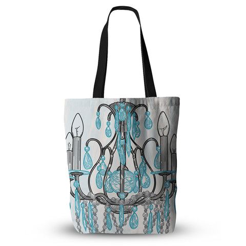 "Sam Posnick ""Chandelier""  Everything Tote Bag - Outlet Item"