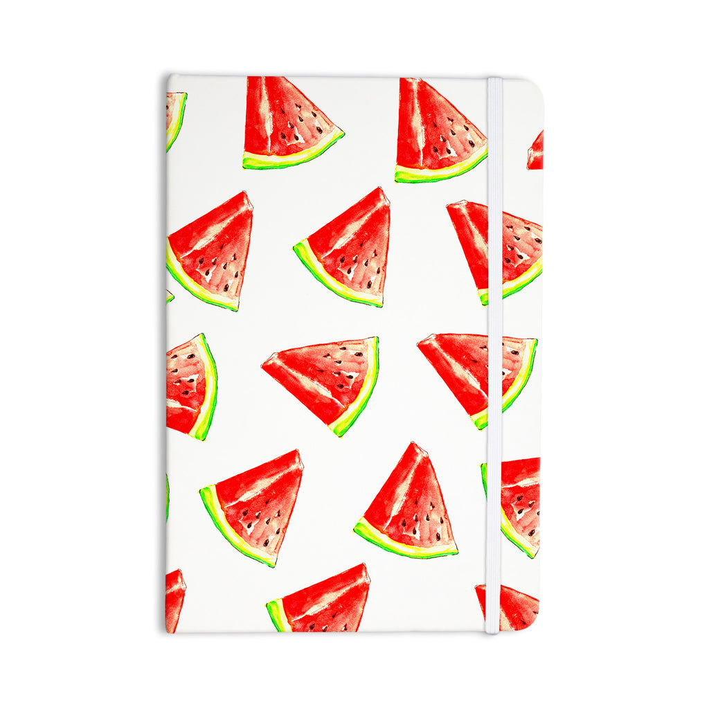 "Sreetama Ray ""Summer Fun"" Watermelon Everything Notebook - KESS InHouse  - 1"