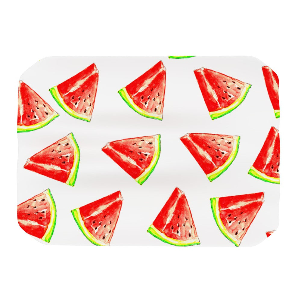 "Sreetama Ray ""Summer Fun"" Watermelon Place Mat - KESS InHouse"