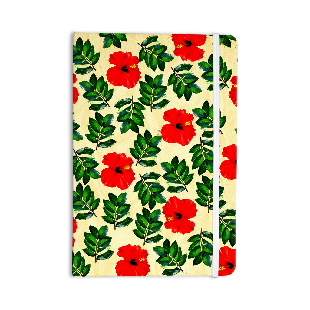"Sreetama Ray ""No More Peonies"" Red Green Everything Notebook - KESS InHouse  - 1"