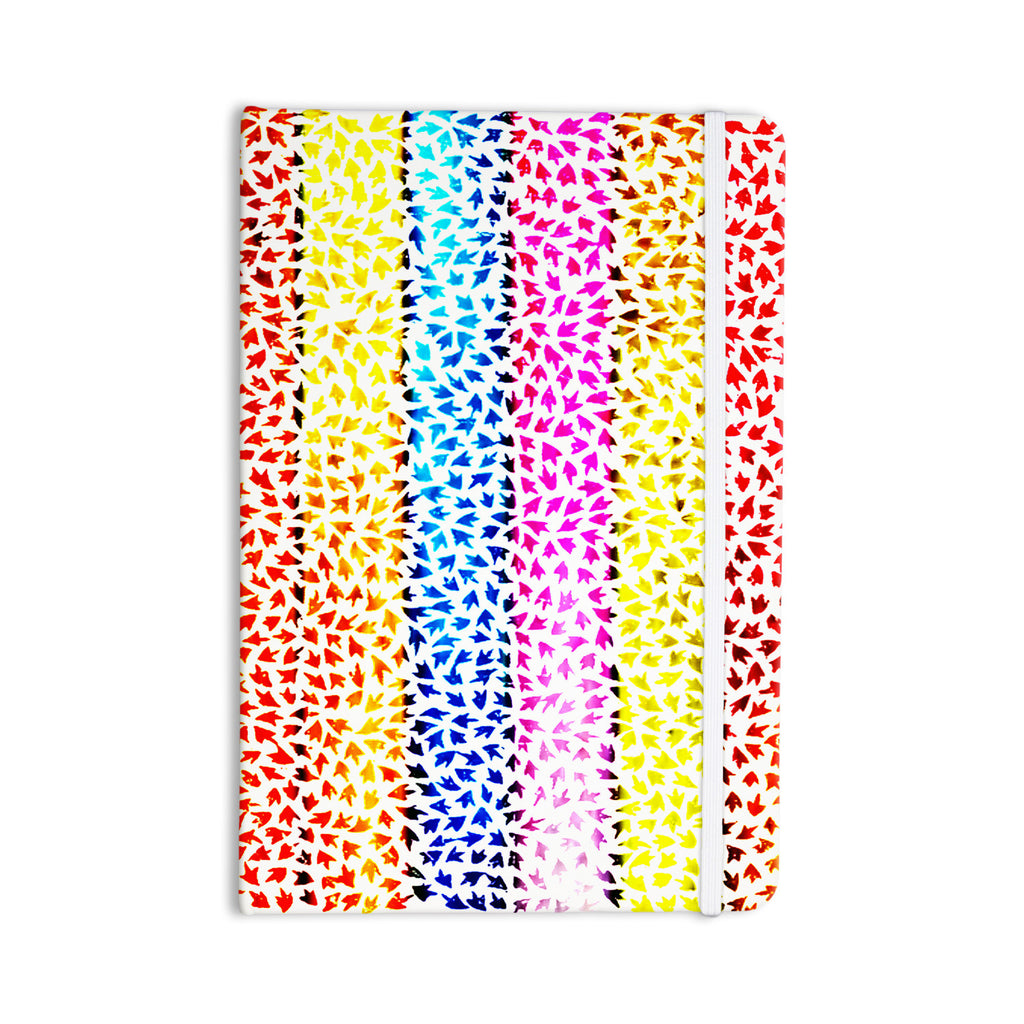 "Sreetama Ray ""Rainbow Arrows"" Multicolor Everything Notebook - KESS InHouse  - 1"