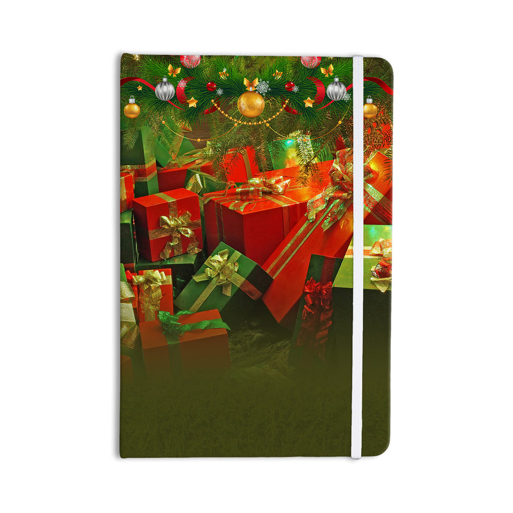"Snap Studio ""Wrapped in Cheer"" Presents Everything Notebook - KESS InHouse  - 1"