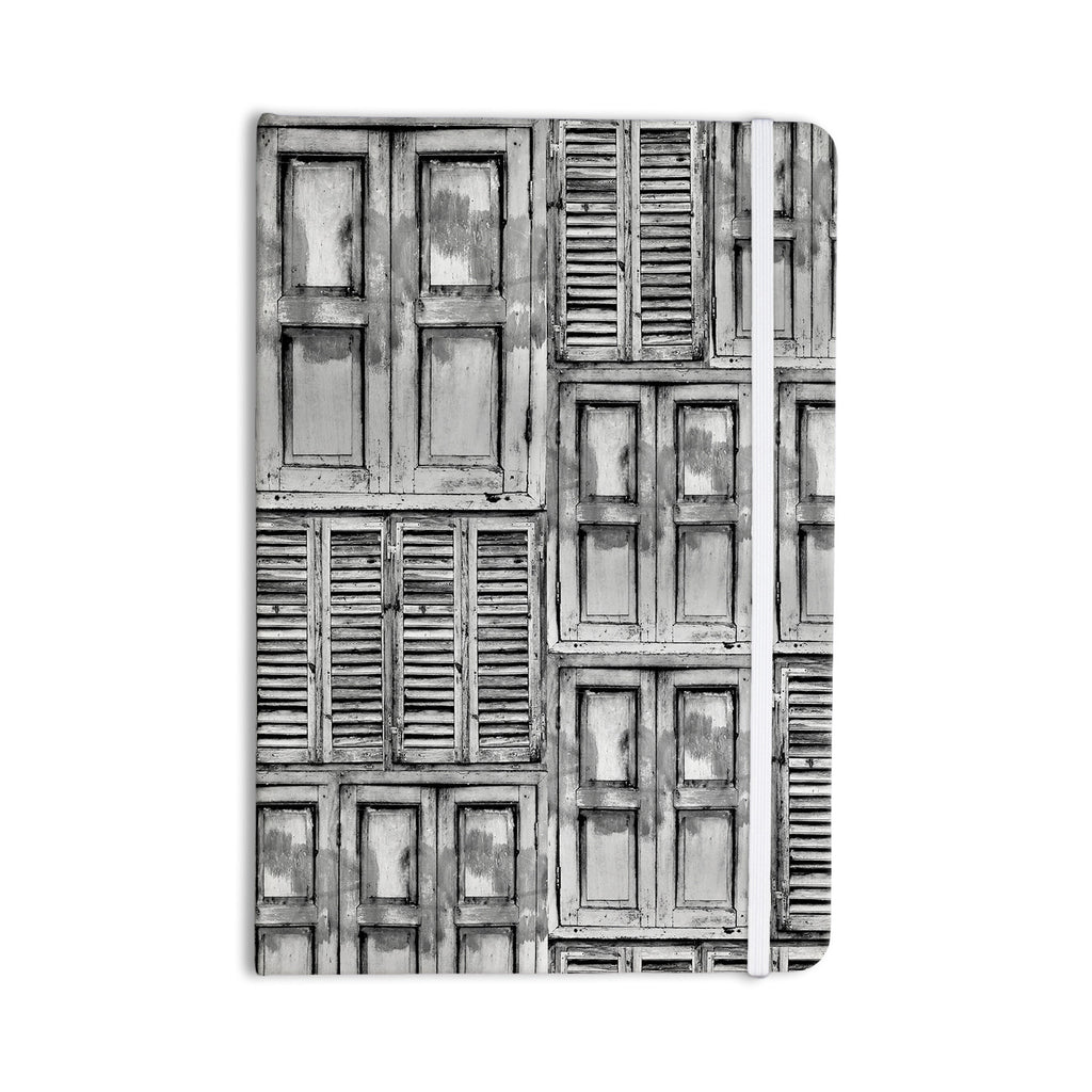 "Snap Studio ""Close the Door"" Gray Everything Notebook - KESS InHouse"