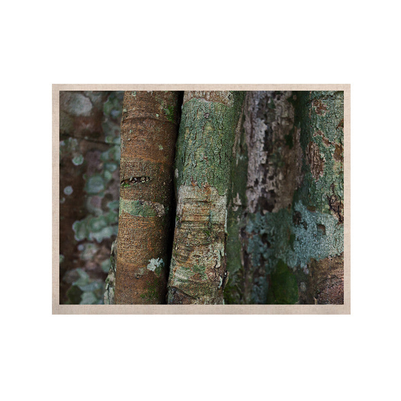 "Susan Sanders ""Into the Woods"" Brown Rustic KESS Naturals Canvas (Frame not Included) - KESS InHouse  - 1"