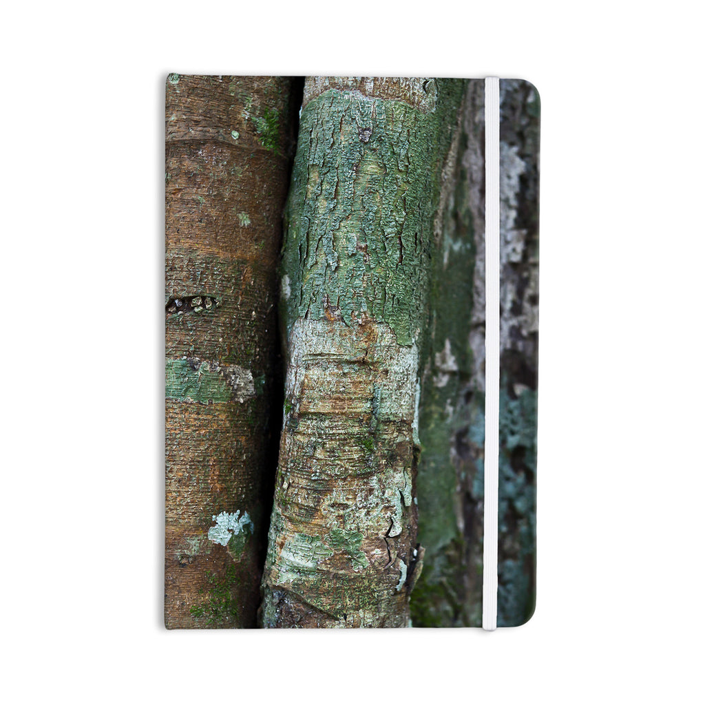 "Susan Sanders ""Into the Woods"" Brown Rustic Everything Notebook - KESS InHouse  - 1"