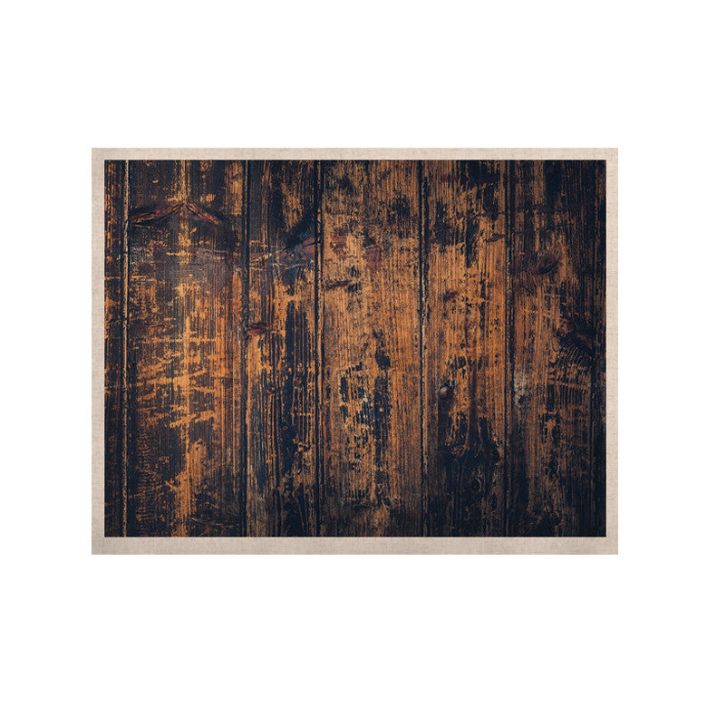 "Susan Sanders ""Barn Floor"" Rustic KESS Naturals Canvas (Frame not Included) - KESS InHouse  - 1"