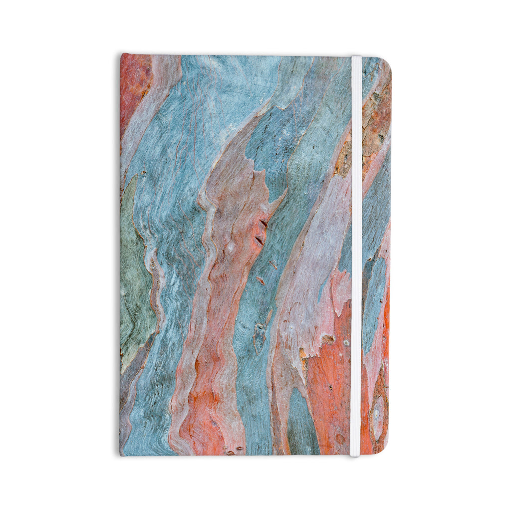 "Susan Sanders ""Beach Dreams"" Orange Blue Everything Notebook - KESS InHouse  - 1"