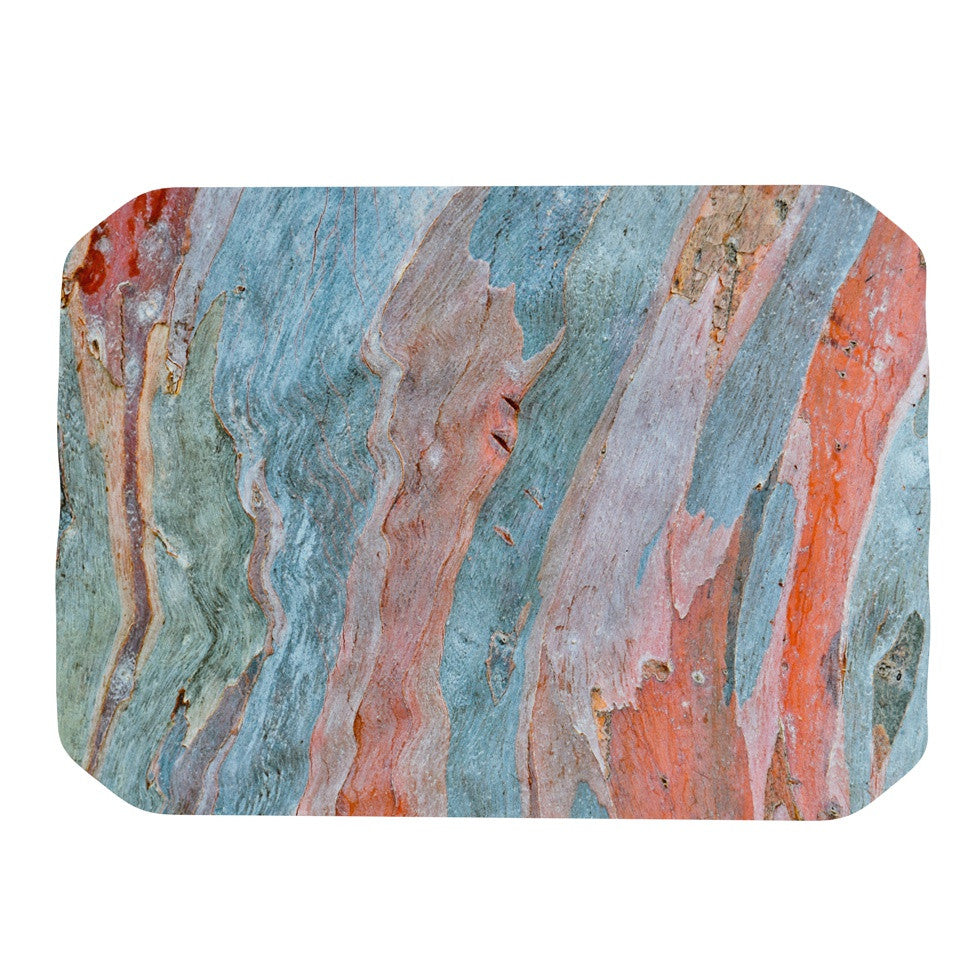 "Susan Sanders ""Beach Dreams"" Orange Blue Place Mat - KESS InHouse"