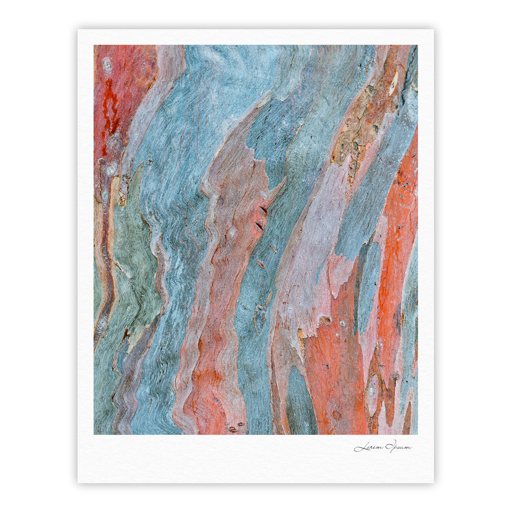 "Susan Sanders ""Beach Dreams"" Orange Blue Fine Art Gallery Print - KESS InHouse"