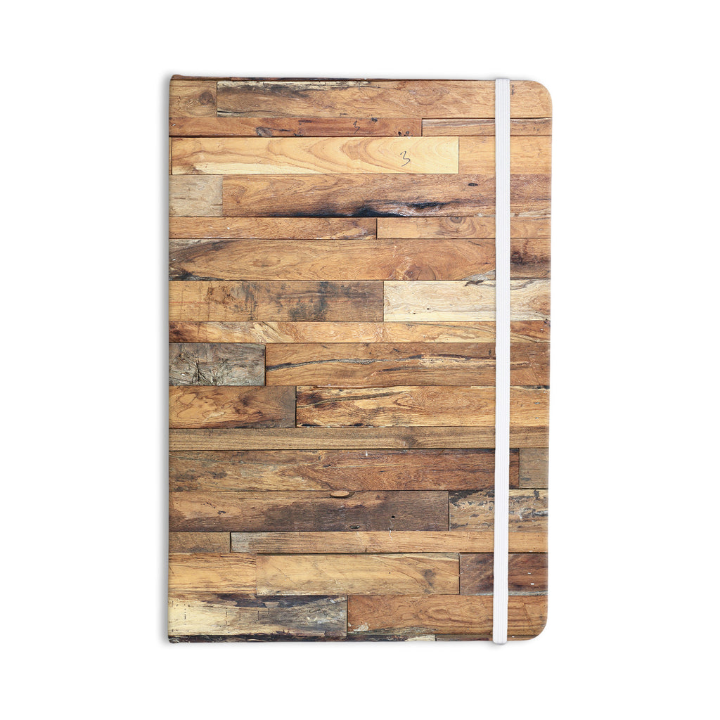 "Susan Sanders ""Campfire Wood"" Rustic Everything Notebook - KESS InHouse"