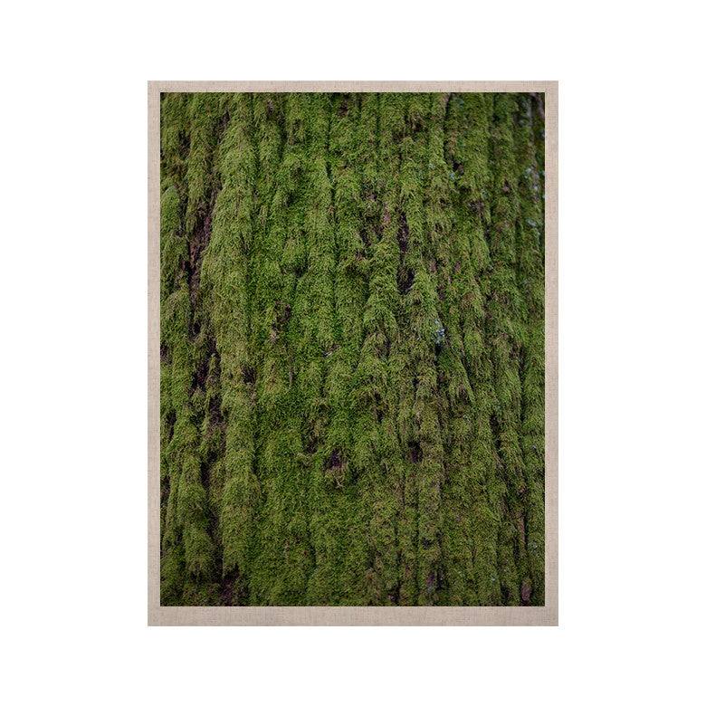 "Susan Sanders ""Emerald Moss"" Green Nature KESS Naturals Canvas (Frame not Included) - KESS InHouse  - 1"