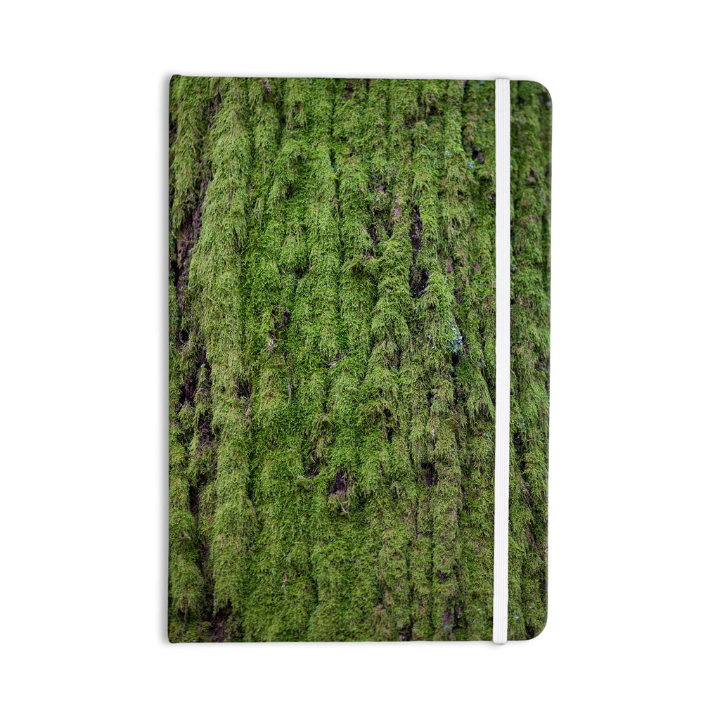 "Susan Sanders ""Emerald Moss"" Green Nature Everything Notebook - KESS InHouse  - 1"