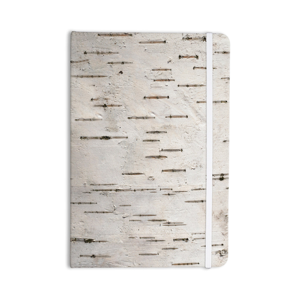 "Susan Sanders ""Painted Tree"" White Rustic Everything Notebook - KESS InHouse  - 1"