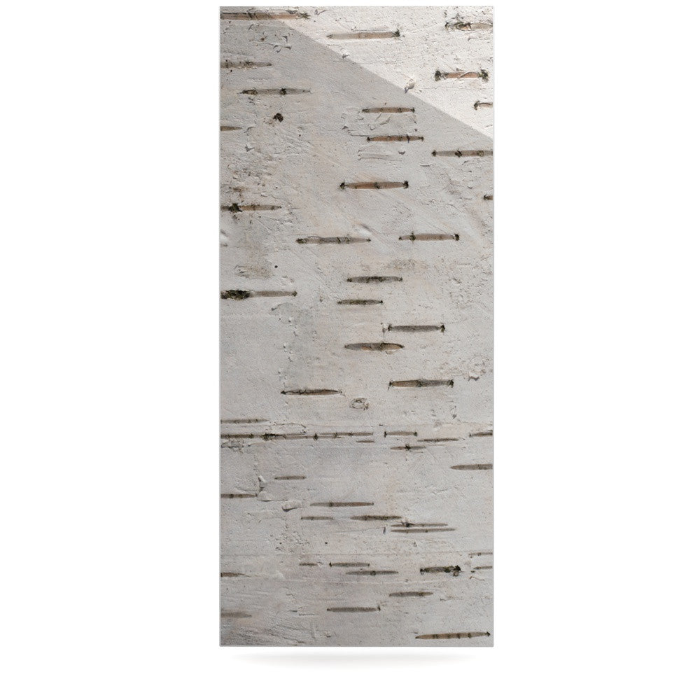 "Susan Sanders ""Painted Tree"" White Rustic Luxe Rectangle Panel - KESS InHouse  - 1"