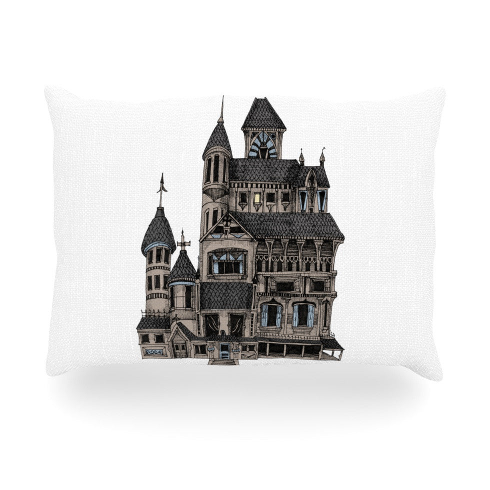 "Sophy Tuttle ""House of Usher"" Haunted Oblong Pillow - KESS InHouse"