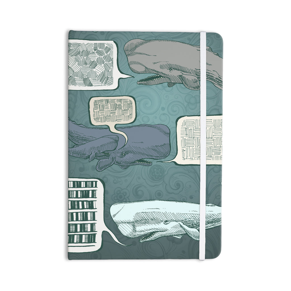 "Sophy Tuttle ""Whale Talk"" Everything Notebook - KESS InHouse  - 1"