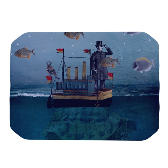 "Suzanne Carter ""The Voyage"" Place Mat - KESS InHouse"