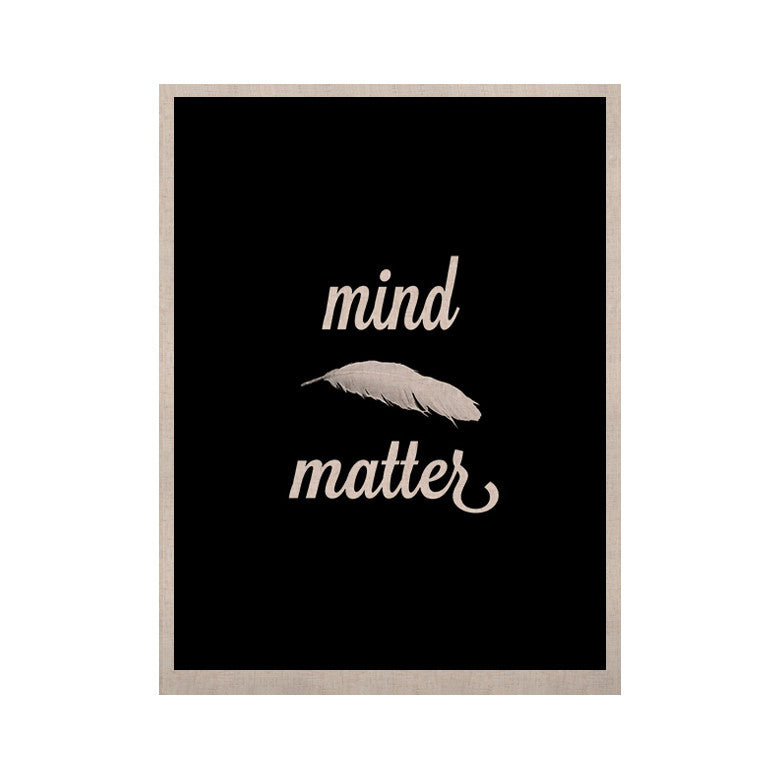 "Skye Zambrana ""Mind Over Matter"" KESS Naturals Canvas (Frame not Included) - KESS InHouse  - 1"