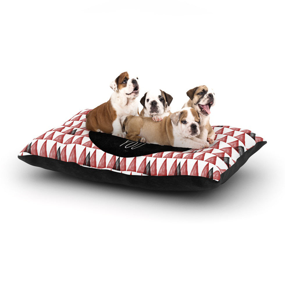 "Skye Zambrana ""I Want You"" Dog Bed - KESS InHouse  - 1"