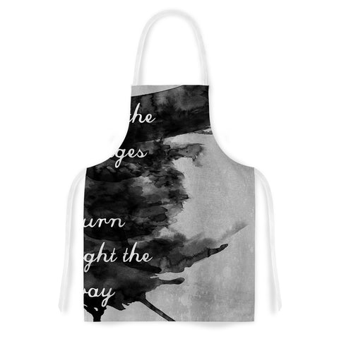 "Skye Zambrana ""Bridges""  Artistic Apron - Outlet Item"
