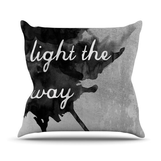 "Skye Zambrana ""Bridges"" Outdoor Throw Pillow - KESS InHouse  - 1"